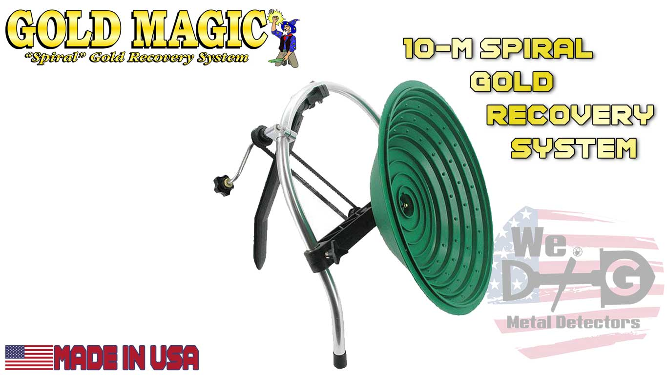 Gold Magic 10-M Spiral Gold Recovery System