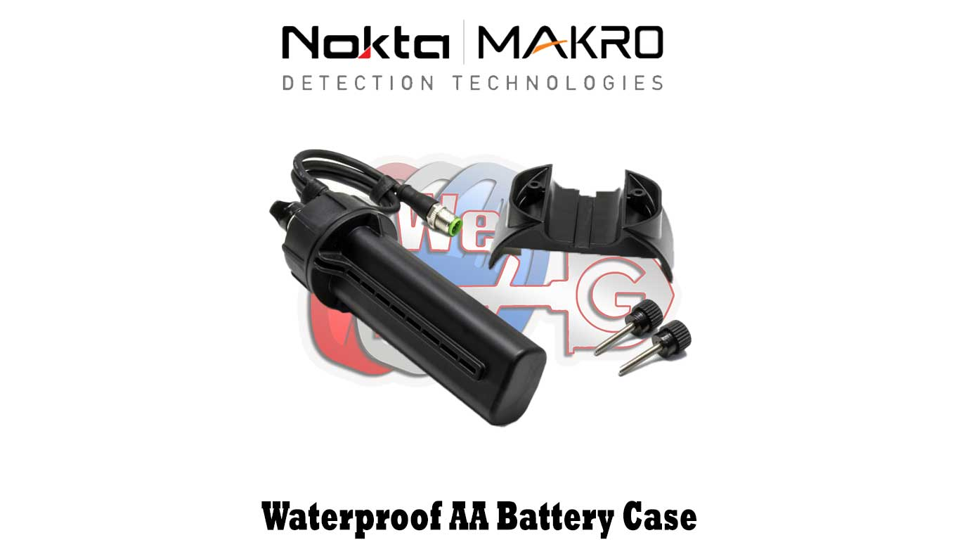 Waterproof AA Battery Case