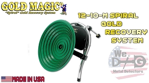 Gold Magic 12-10 Spiral Gold Recovery System